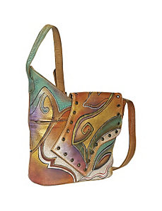 Abstract Flap Bag-Abstract Sunset by Anuschka