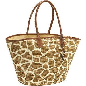 Printed toyo handbag