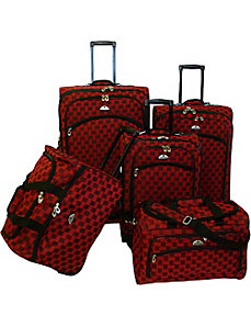 Madrid 5 Piece Spinner Luggage Set by American Flyer