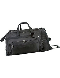 28 in. Titan Rolling Duffel Bag by U.S. Traveler