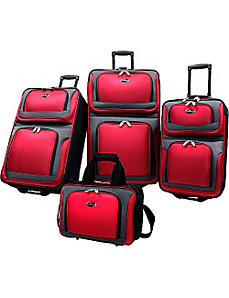 New Yorker 4-Piece Luggage Set by U.S. Traveler