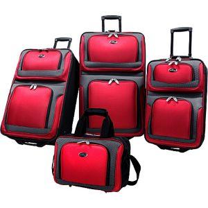 New Yorker 4-Piece Luggage Set