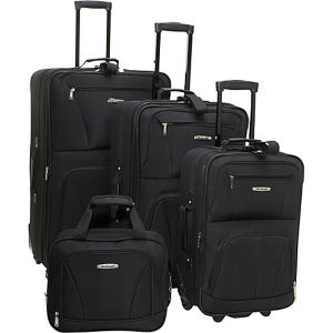 Deluxe 4 Piece Luggage Set