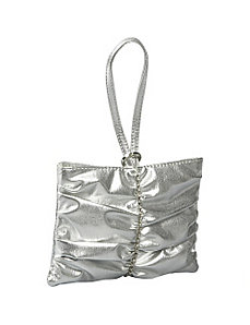 Pleated Strip Wristlet by Coloriffics Handbags