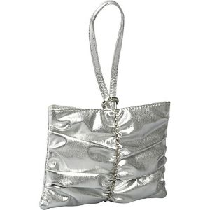 Pleated Strip Wristlet