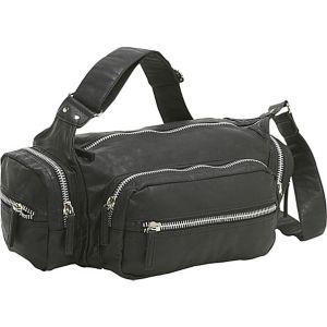 Alexandria Zipper Trim Shoulder Bag