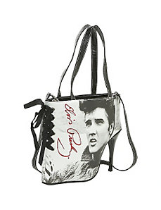 Elvis Sweater Shoe Bag by Ashley M