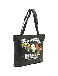 Elvis Love Tote Bag by Ashley M