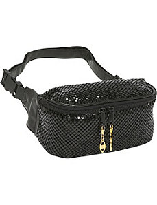 Metal Mesh Waist Bag by Prezzo