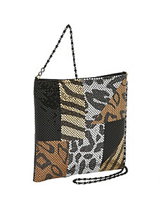 Large Metal Mesh Cross Body by Prezzo