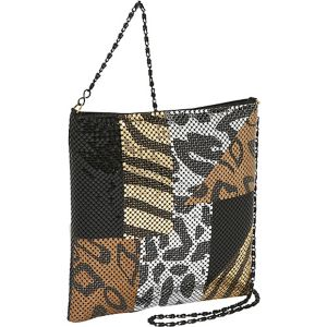 Large Metal Mesh Cross Body