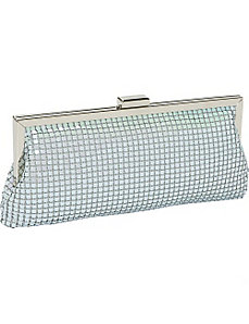 Metal Mesh Clutch by Prezzo