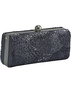 Hardcase Beaded Evening Bag by J. Furmani