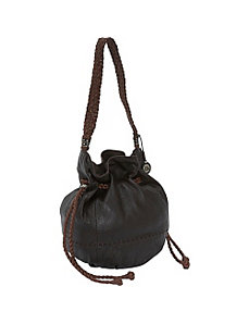 Indio Leather Drawstring by The Sak