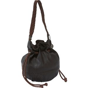 Indio Leather Drawstring