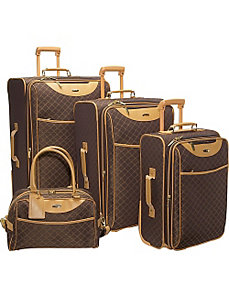 Signature 4-piece Exp. Luggage set by Pierre Cardin