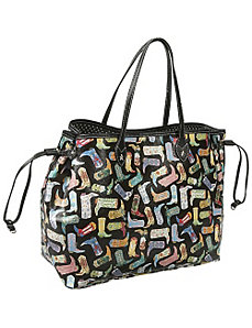 Kickin' It Front Drawstring Tote by Sydney Love