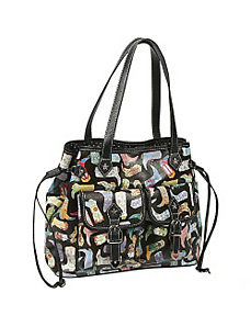 Kickin' It Front Pocket Tote by Sydney Love
