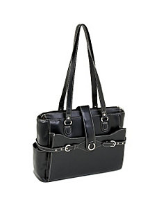 Isabella Leather 15.4' Ladies' Briefcase by McKlein USA