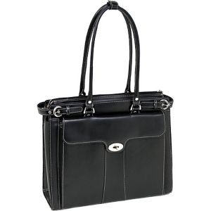 Quincy Leather 15.4' Ladies' Briefcase