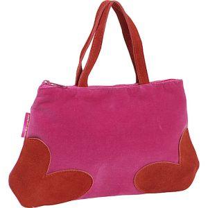 Agatha Ruiz De La Prada Hearts Suede Handbag