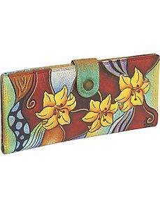 Ladies Two Fold Wallet: Tribal Lily by Anuschka