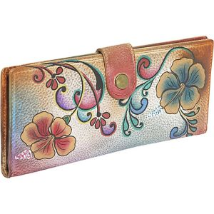 Ladies Two Fold Wallet: Henna Floral