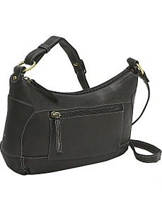 Compact Top Zip Handbag by Derek Alexander Leather