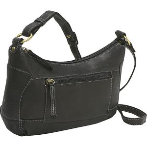 Compact Top Zip Handbag
