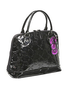 Hello Kitty Small Black Embossed Bag by Loungefly