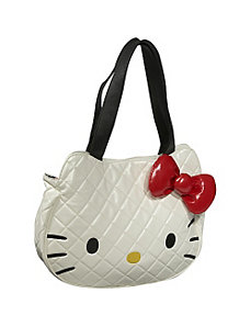 Hello Kitty White Quilted Face Bag by Loungefly