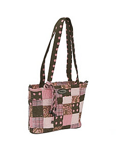Jenna Bag  Mocha Patch by Donna Sharp