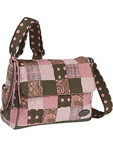 Pauline Bag  Mocha Patch by Donna Sharp