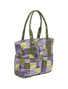 Elaina Bag  Grape Patch by Donna Sharp
