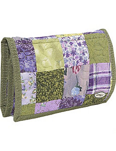 Large Wallet  Grape Patch by Donna Sharp