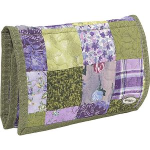Large Wallet Grape Patch