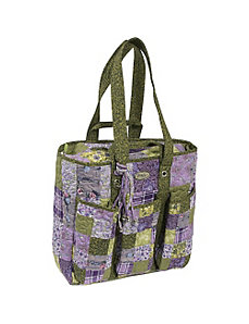 Utility Bag  Grape Patch by Donna Sharp
