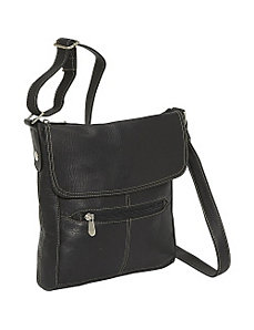 Front Flap Crossbody by Le Donne Leather