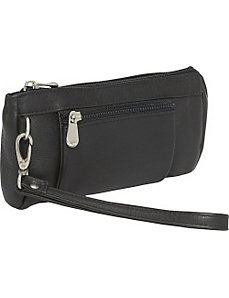 Large Wristlet Wallet by Le Donne Leather