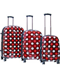 Montego Bay 3 Piece Hardside Spinner Set by CalPak