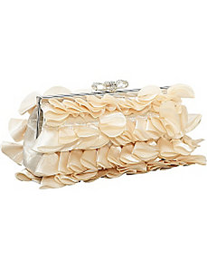 Ruffled Clutch by J. Furmani