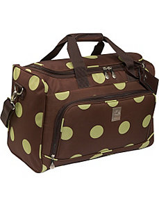 Dots City Duffel by Jenni Chan