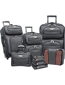 Amsterdam 8-piece Luggage Set by Traveler's Choice