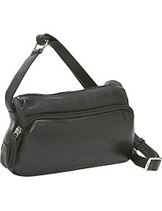 Small Twin Top Zip Handbag by Derek Alexander Leather