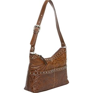 Heartland Zip -Top Shoulder Bag