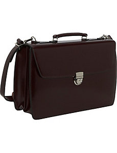 Elements Collection Flapover Laptop Briefcase by Jack Georges