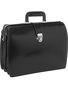 Elements Collection Classic Leather Laptop Briefbag by Jack Georges
