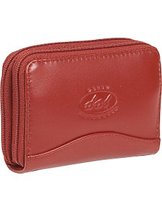 Accardian Twin Zip Credit Card Holder by Derek Alexander Leather