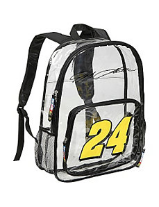 Jeff Gordon Clear Backpack by Nascar