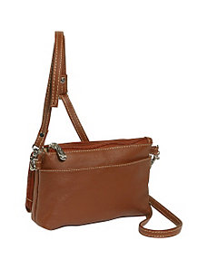 Shoulder Bag/Wristlet by Piel